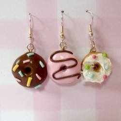 Donut Dangely Earrings