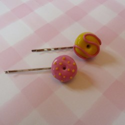 Donut Hair Slides