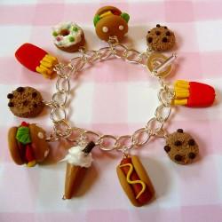 Fast Food Bracelet