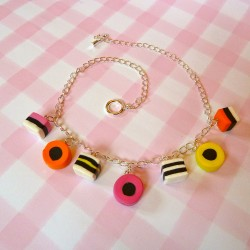 Liquorice Allsorts Chain Necklace